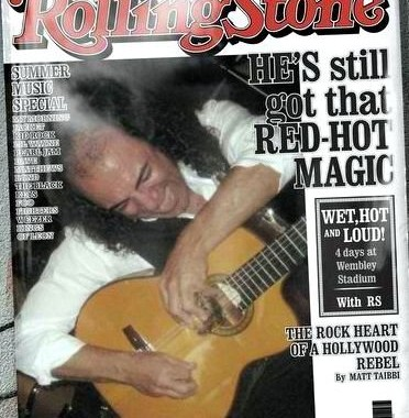 Front Cover RollingStone